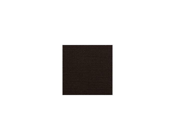 Skansen kap Rechthoek recht plat 36 cm Kleur Zwart linnen (659)
