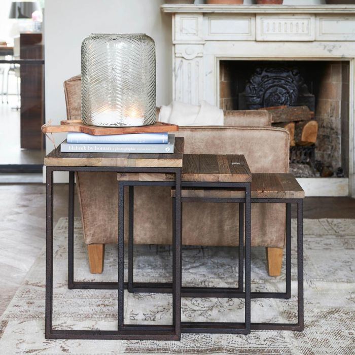 Shelter Island End Table S/3 Riviera Maison 304970