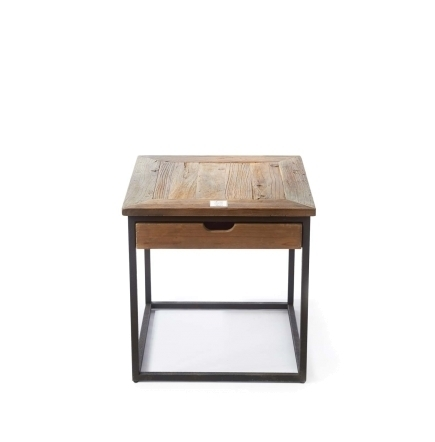 Shelter Island End Table with drawer Riviera Maison 292490