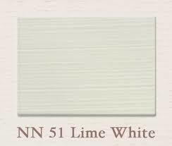 Painting the Past -NN51 Lime White Houtverf Eggshell 750 ml