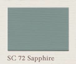 Painting the Past –SC72 Sapphire Houtverf Eggshell 750 ml