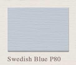 Painting the Past – Swedish Blue P81 Houtverf Matt 750 ml
