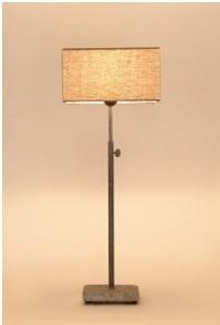 Hard stone table lamp Tierlantijn bij Jolijt (inclusief kap)