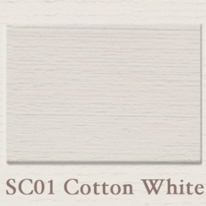 SALE Proefpotje SC01 Cotton White Painting the Past