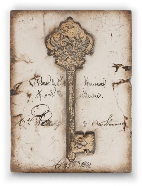 T 336 The key Sid Dickens tegel bij Jolijt