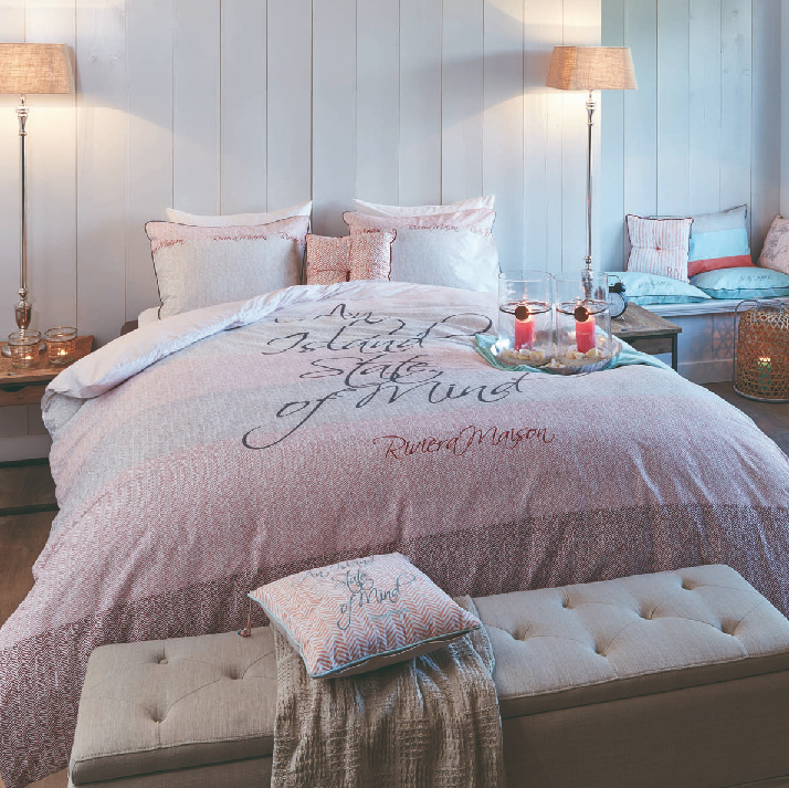 la Paz Cushion Coral Riviera Maison 40 x 40 (incl. binnenvulling) 158563!!