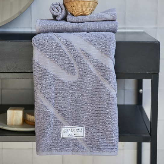 Spa Specials Bath Towel  140x70 Taupe Riviera Maison 436350