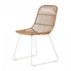 Hartford Outdoor Dining Chair Natural Stonewhite Riviera Maison 448620