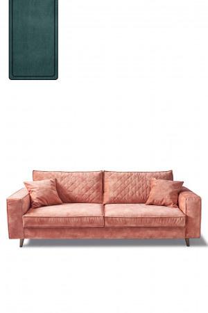 Kendall Sofa 2,5 Seater, velvet, mineral blue Riviera Maison 4218004