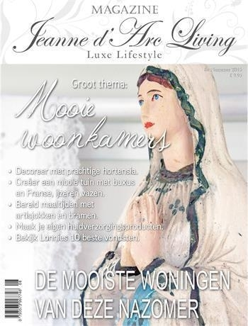 Jeanne d'Arc Living magazine nr. 8 2015 (nederlandstalige editie) bij Jolijt
