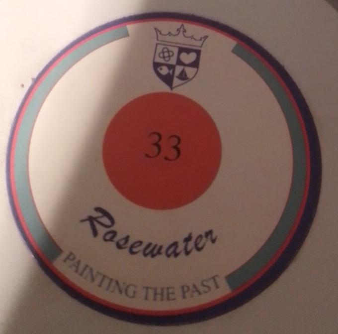Painting the Past –33  Rosewater Houtverf Matt 750 ml