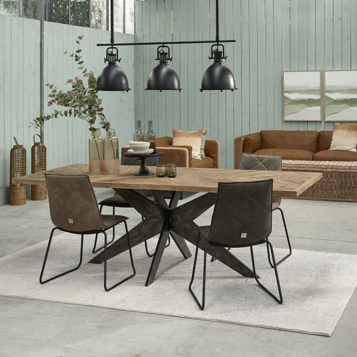Falcon Crest Dining Table 230X100 Riviera Maison 468490