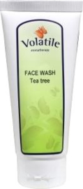 Volatile tea tree olie face wash
