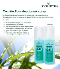 COURTIN VOET DEODORANT-SPRAY 100 ML