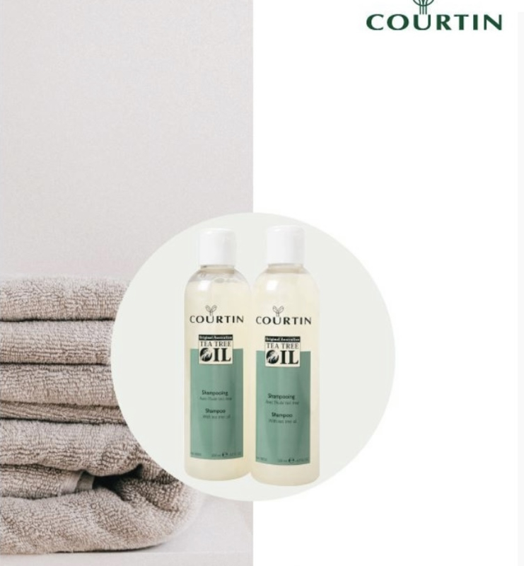 Courtin Tea Tree Shampoo 200 ML 4+1 gratis