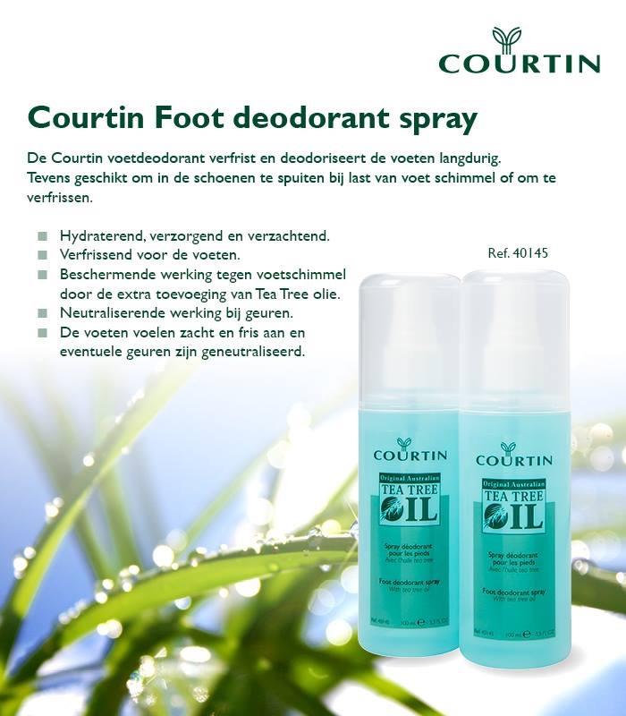 COURTIN VOET DEODORANT-SPRAY 100 ML