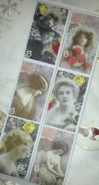 Zeepsticker assortie lady B6