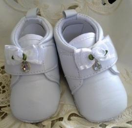 Brocant Baby schoentje Wit
