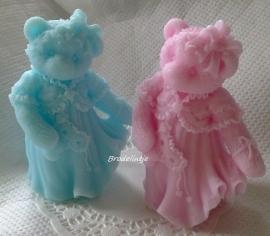 **Tijdelijk niet op voorraad) Zeep Victorian Bear