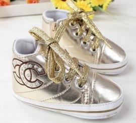 Gouden schoentjes