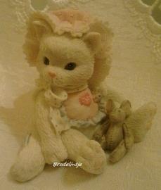 **Nieuw** Mal Brocante kitten met Muisje