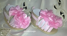 Baby Sandaaltjes flower