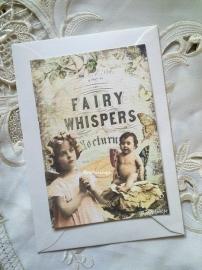 Brocante Anzichtkaart Fairy Whispers