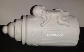 Mal Grote Baby fles met baby