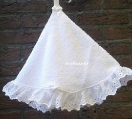 Franse Ronde Handdoekjes Wit