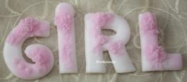 Romantische Zeep Alfabet Letters