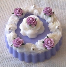 Romantisch klein taartje