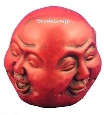 Mal kleine Budha hoofd
