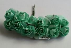 Paper roosjes Groen