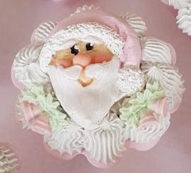 Cupcake Kerstman (Decoratie)
