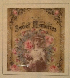 Sweet Memories Zeepsticker
