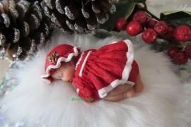 **Nieuw** Mal Christmas Girl (Topper)