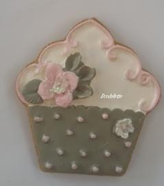 Mal Cupcake bloem