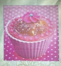 Mini servet cupcake