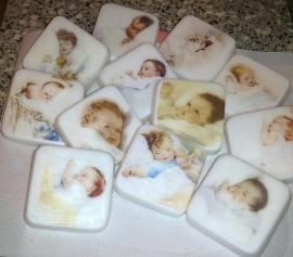 Assortie baby zeepjes