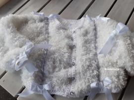 Baby vest jasje met strass