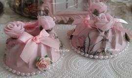Engels Tulbandje Roze (Decoratie)