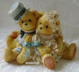 **Nieuw** Mal Romantisch Berenbruidspaar