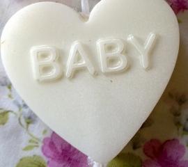 **Nieuw** Los hart baby