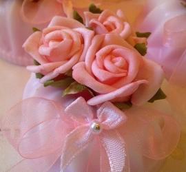 **Nieuw** Tulbandje Romantic Rose