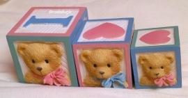 **Nieuw** Mal 3 baby Berenblokken
