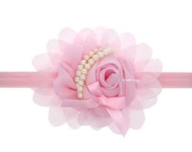 Baby Haarbandjes Roze Parel