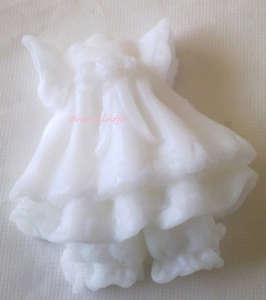 **Nieuw** Lief jurk zeepje (10stuks)