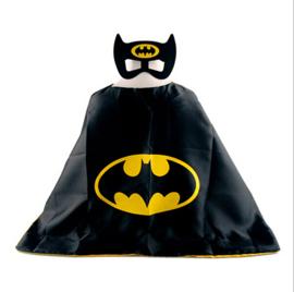 Batman cape + masker kind 3-8 jaar