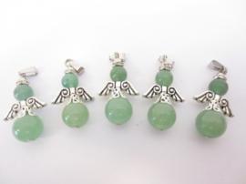 Beschermengel pendelhanger van Jade