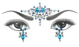 Bindi Face Jewel set blauw nr.1